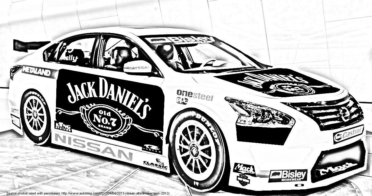 nissan cotf mockup text2 sourcehttpwwwjesterroyalecomv8supercar01 2013 nissan altima supercar3bjpg v8 supercars coloring pages